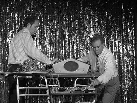Brian Dewan - Dual Primate Console in Action