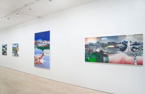"no title - Elliott Green, ""Human Nature,"" Pierogi. Installation view"