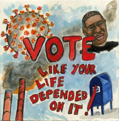 Elise Engler - Vote Like Your Life Depended On It