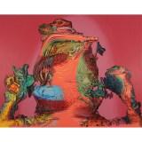 "James Esber - ""Hero,"" 2021, Acrylic on canvas, 48 x 62 inches"