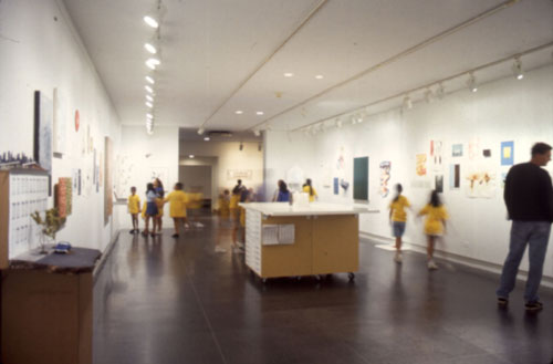 Traveling Flat Files - Brooklyn Museum Installation View