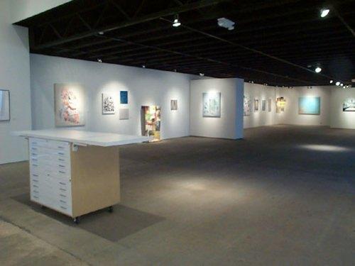 Traveling Flat Files - Block Art Space, Kansas City. Installation View