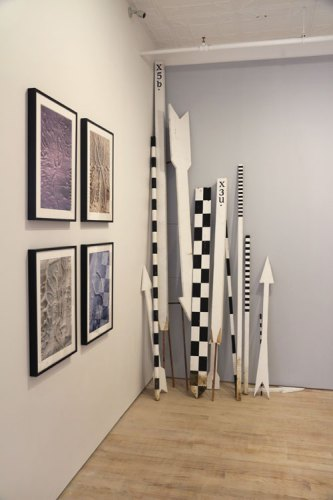 "Brian Conley - ""False Narratives"" Installation View, June 2016 (""Decipherment of Linear X"")"