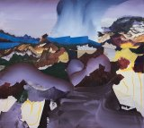 "Elliott Green - ""Generator,"" 2017, Oil on linen, 40 x 36 inches"