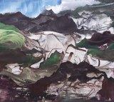 """Elliott Green - """"Hunger,"""" 2017, Oil on linen, 36 x 40 inches"""