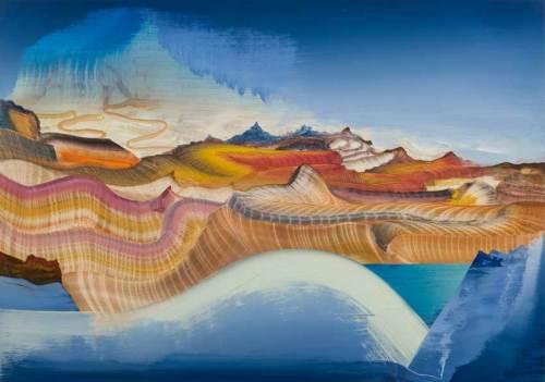 "Elliott Green - ""The Creamery,"" 2018, Oil on linen, 16 x 24 inches"