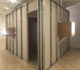 "Patrick Jacobs - ""Room of Nocturnes,"" Installation view exterior, Pierogi October 2020"