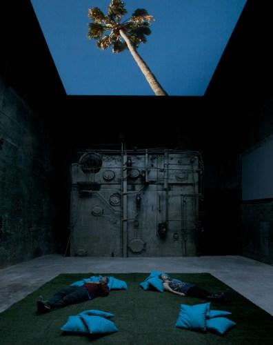 Skyward - Skyward Installation at The Boiler, 2012, Video Installation, Duration 9:45 minutes