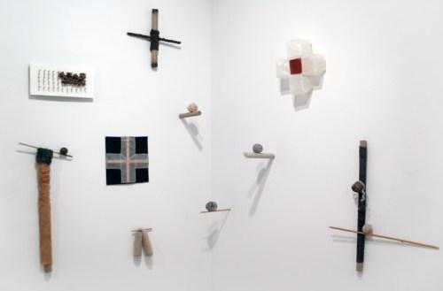 Installation view - Various sculptures