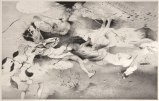 "Darina Karpov - ""Huddle,"" 2013, Graphite on paper, 12 x 18 inches"