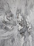 "Darina Karpov - ""Lair,"" 2014, Watercolor and gouache on paper, 24 x 18 inches"