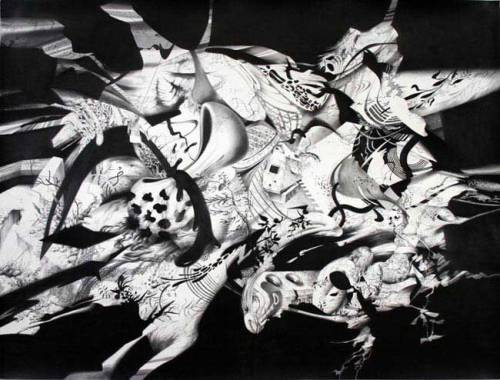 Pinch - 2008, Graphite on Paper, 42 x 55.5 inches (unframed dimensions)