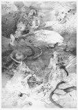 "Darina Karpov - ""Swamp,"" 2013, Graphite on paper, 12 x 9 inches"