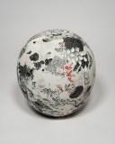 "Darina Karpov - ""Tyger Tyger,"" 2019, Glaze and underglaze on porcelain, 9 x 8 x 8 inches. Sold"