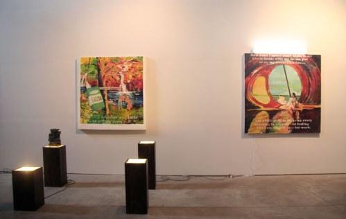David Kramer - Installation view at The Boiler