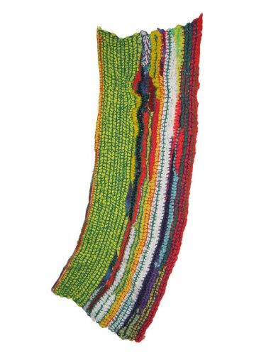 Then And Now (Lichtenstein) - 2007, Yarn, 45 x 25 inches