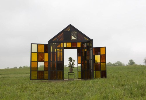 Solarium - Installation view at Storm King, May 2012