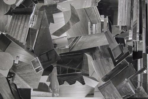 "Maria Levitsky - ""Uncanny Mirror,"" Photo collage, 24 x 33 inches framed"