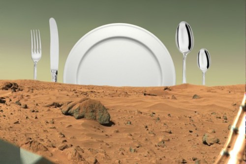 The Menu for Mars - The Menu for Mars Kitchen