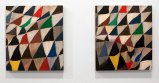 Pair - 2012, Acrylic on canvas over panel, (Diptych) 18 1/8 x 16 1/8 inches each panel