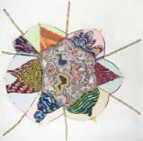 """John O'Connor - """"A Good Idea,"""" 2010, Graphite and Colored Pencil on Paper, 78.5 x 78.5 inches"""