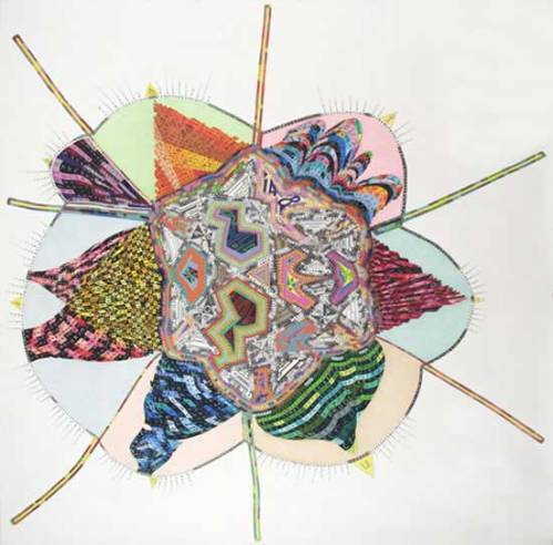 "John O'Connor - ""A Good Idea,"" 2010, Graphite and Colored Pencil on Paper, 78.5 x 78.5 inches"