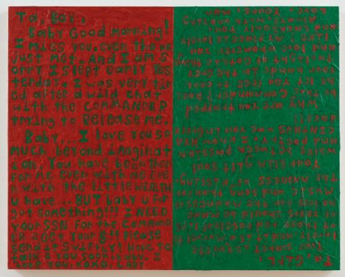 """John O'Connor - """"Boy, Girl,"""" 2016, Acrylic on panel, 16 x 20 inches"""