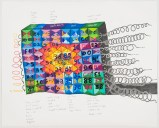 British Code - 2012, Graphite and colored pencil on paper
