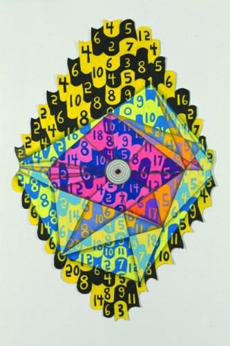 """John O'Connor - """"Twenty Seven,"""" 2012, Graphite, colored pencil on paper"""