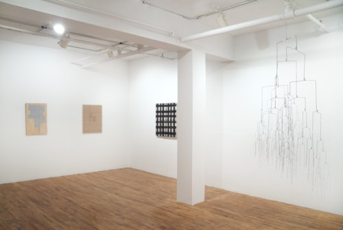 Installation view of Off the Grid - no description