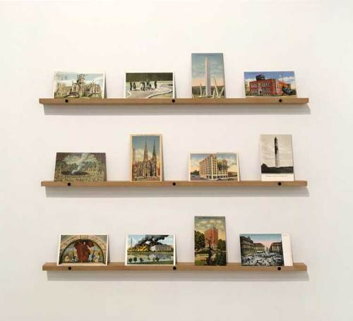 David Opdyke - Postcards Installation View, 2018, Pierogi