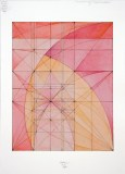 """Mark Reynolds - """"The 1.111 Series: Warmth, 3.11,"""" 2011, Watercolor and ink on cotton paper, 10.4375 x 8.25 inches"""