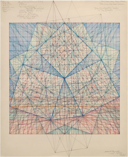 "Mark Reynolds - ""Minor Third Series Three Squares,"" b-2.17"