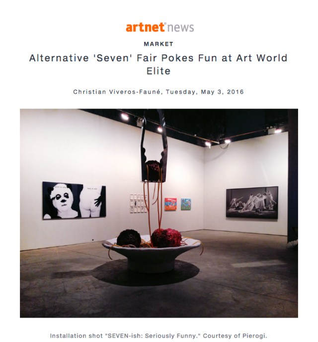 Artnet News press clip - no description