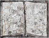 David Scher - Untitled (Book 7), Mixed media on paper, 18 x 23 inches