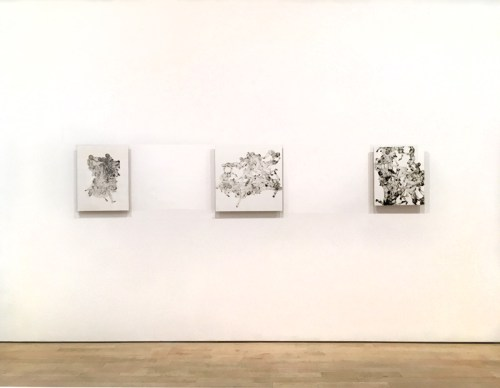 """Jonathan Schipper - """"At Any Given Moment,"""" 2019, Installation View"""