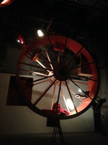 """Ward Shelley and Alex Schweder - """"In Orbit,"""" Installation view - Good night, Ward. Good night, Alex"""