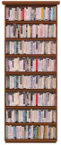 "Ward Shelley - ""The Last Library,"" 2015, Mixed media, 72 x 36 inches"
