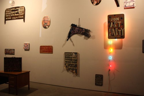 The Art Party (Gotham Golem) - Installation view at The Boiler