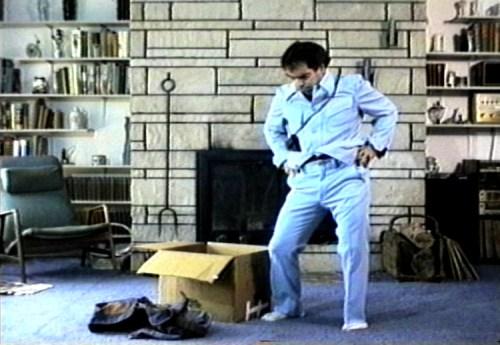 "Michael Smith (Greene Naftali) - Film still: Michael Smith, ""OYMA (Outstanding Young Men of America),"" 1996, 9:23 min. Courtesy the artist and Greene Naftali."