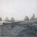 Understanding Landscape Photography #3, Lower Hudson - 2009, colored pencil on rag paper, 30 x 30 inches