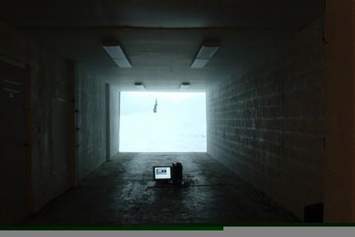 Alaska film - Installation, Miami, 2006