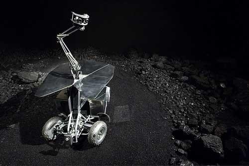 Rover 4 - 2008, Trailer, computers, coal, tar, robotic rover, cameras, sound system, data transmitter