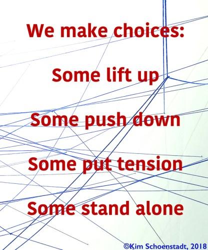 """Kim Schoenstadt - """"We Make Choices"""""""