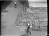 "Empty Lot - Still from video ""Atlantic in Brooklyn,"" 1971-72. Collection of the artist."