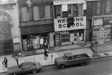 Brooklyn Welding School - 1971-1972. Black and white photograph. Collection of the artist.