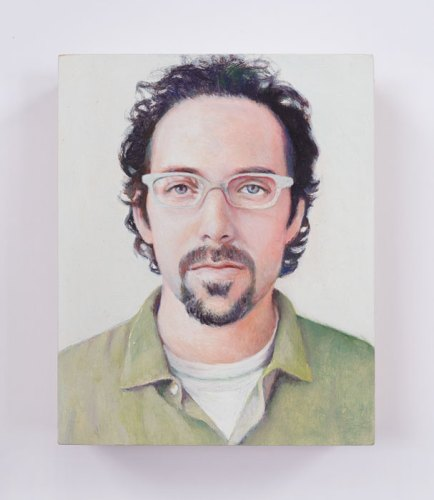"Jim Torok - ""Alan,"" 2016, Oil on panel, 3.75 x 3 inches"