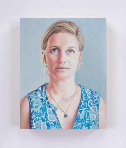 "Jim Torok - ""Kate,"" 2016, Oil on panel, 5 x 3.75 inches"