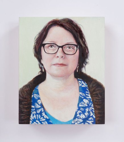 "Jim Torok - ""Laura,"" 2016, Oil on panel, 3.75 x 3 inches"