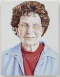 "Jim Torok - ""Mom,"" 2015, Oil on panel, 9 x 7 x 1 inches"